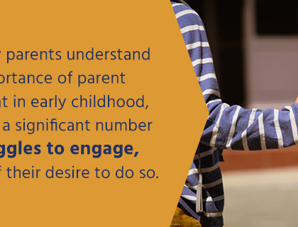 Some parents may struggle to be engaged in their child's education due to a variety of factors